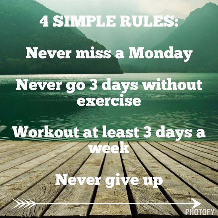 Never Miss a Monday! I needed to read this because last week I fell off the wagon, but I'm ready to jump back on this week! For more motivation, recipes, health and fitness tips, please like my page:) Click on pic or http://www.facebook.com/JenniPetegetfit