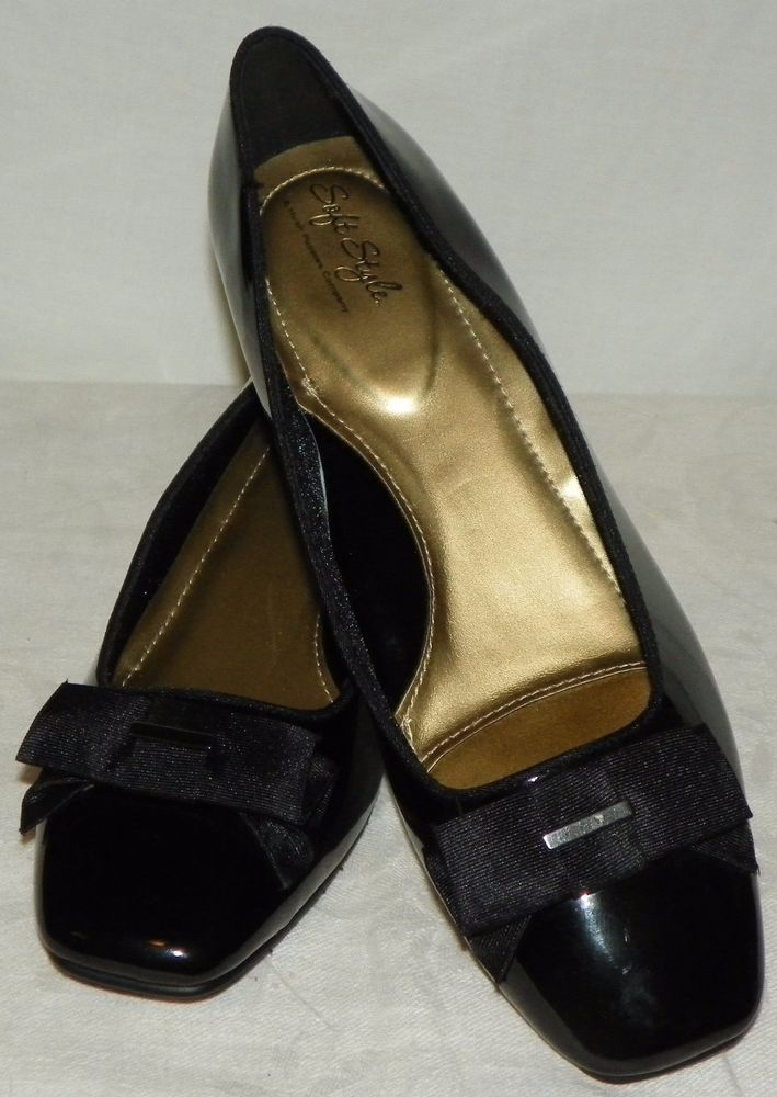 Soft Style by Hush Puppies Womens Sharyl Black Dress Pumps Sz 11 Wide New Other #SoftStylebyHushPuppies #Classics