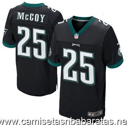 Camisetas nfl Philadelphia Eagles McCoy #25 negro €32.90