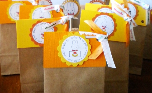 Miffy party favors