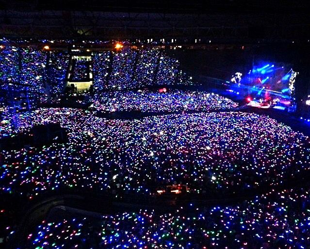 Beautiful! Coldplay Argentina, 3/31/2016...Opening Night AHFOD Tour...