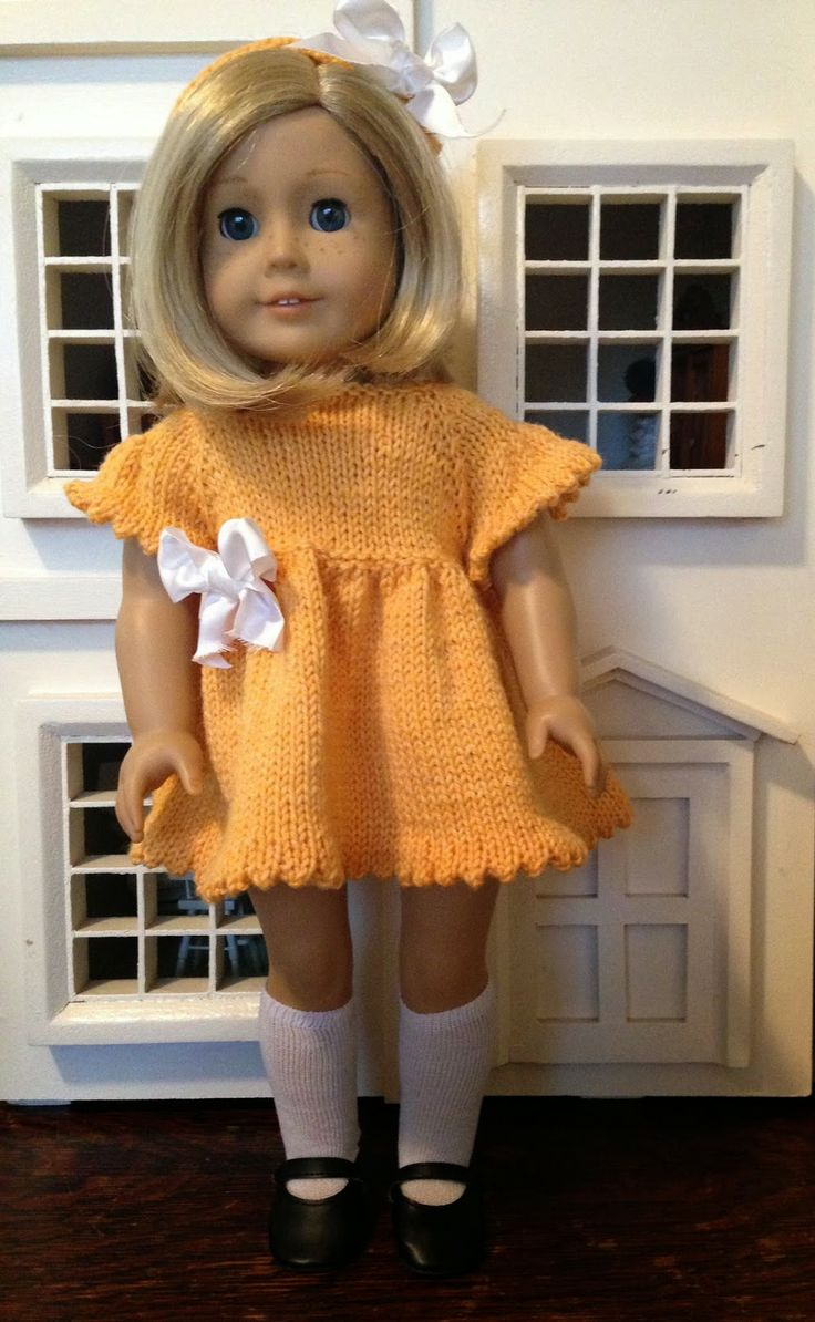 41 best Knitting American Girl Doll Clothes images on Pinterest ...
