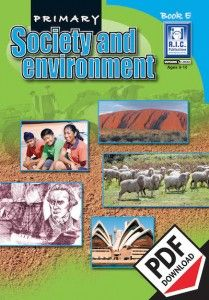 Primary Society and Environment - HASS. This contemporary worksheet teacher resource is a series which uses five familiar units to provide a complete society and environment program for a full year of work. The units focus primarily on Australian themes relating to the local community and environment and Australia's place in the world. Ebook PDF download.