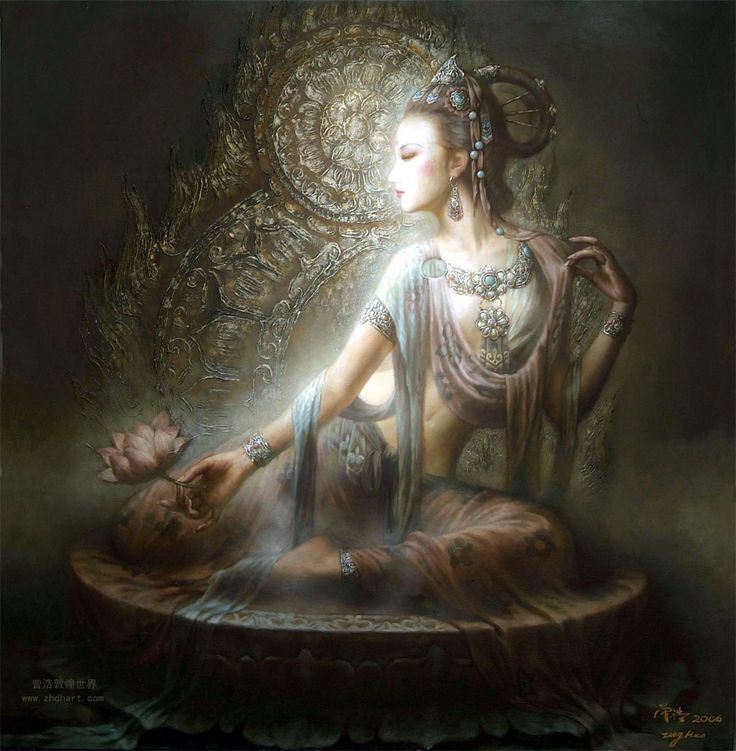 Quan Yin - Female Goddess of Compassion in Buddhism