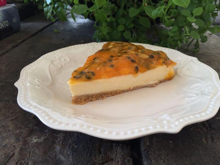 CheeseCake Integral de Maracuyá