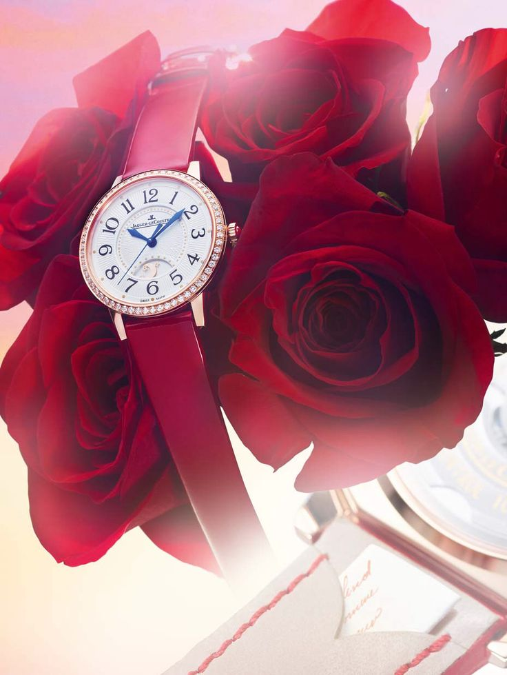 Jaeger-LeCoultre's limited edition Rendez-Vous. PS. I Love You watch has a pocket hidden inside the patent leather strap designed to hold a secret letter.