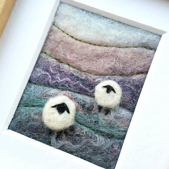 Check out this item in my Etsy shop https://www.etsy.com/uk/listing/539961947/sheep-on-a-hillside-in-winter-original
