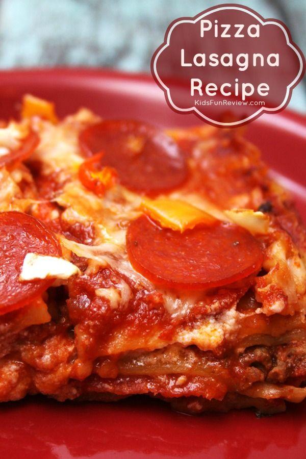 pizza lasagna recipe with pepperoni
