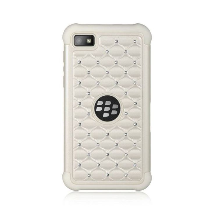 Insten Hard Snap-on Dual Layer Hybrid Case Cover with Diamond For BlackBerry Z10 #2291995