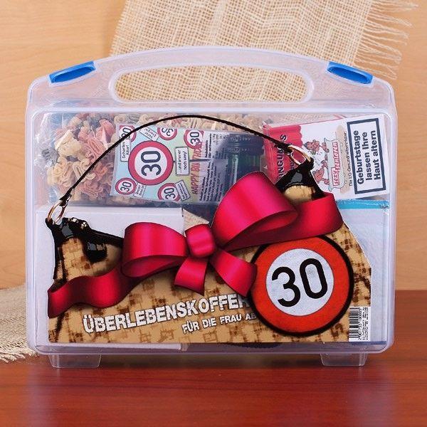 geschenkidee zum 30ten geburtstag