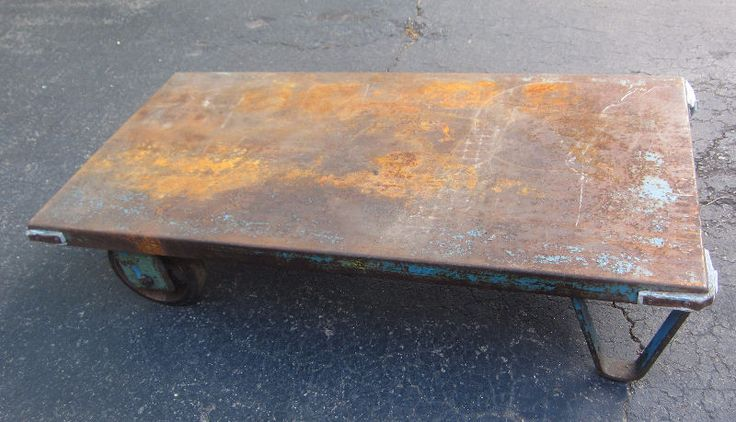 Antique Peg Leg Industrial Factory Cart Coffee Tables City Of Toronto Kijiji Coffee Table Cart Coffee Table Ottoman Coffee Table