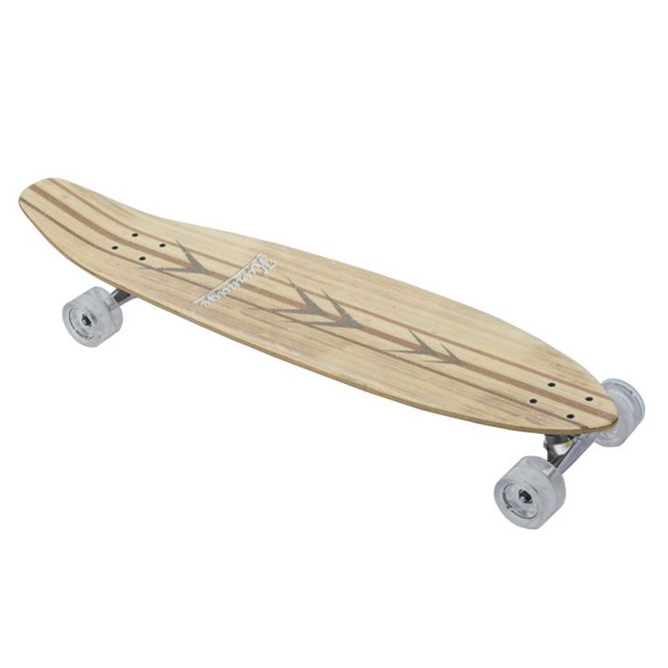 "Karnage 38"" Bamboo Longboard | with kicktail"