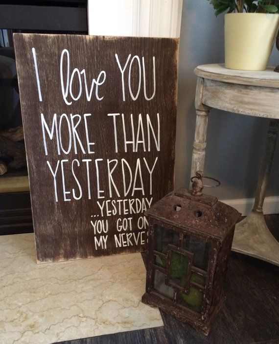 I Love You More Than Yesterday