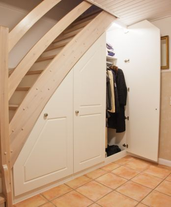 Cool under stair closet