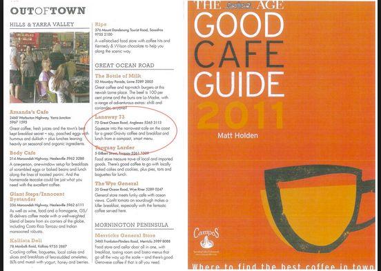 Good Food Guide > Coffee!