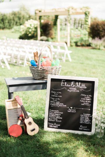 Cool, Fun, Rustic Farm Wedding