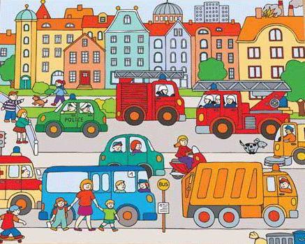 Geluiden in het verkeer - auditieve oefening Neem verschillende geluiden op in het verkeer, bijv. met een mp3 speler: slagbomen die dicht gaan, een toeterende auto, fietsbel, piepende remmen, spelende kinderen, omroepster op het station, klaar-over, motor. Laat de geluiden in de klas horen en laat de kinderen raden wat ze horen.