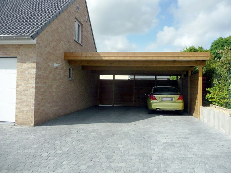 17 best images about carport parking open garage ideas for Construction garage double
