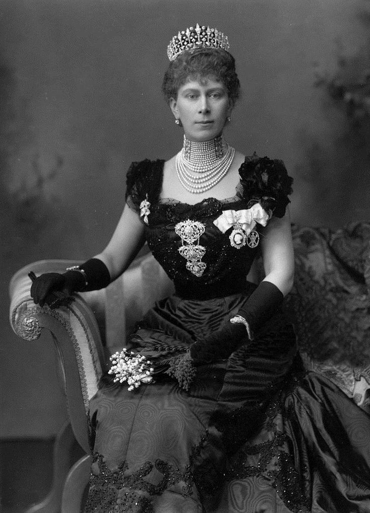 Queen Mary, QEII's grandmother.  B