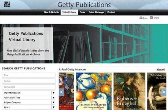 Δωρεάν download για 250 βιβλία τέχνης