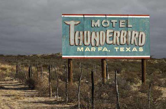 thunderbird motel marfa