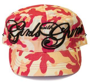 Girls-with-Guns-pink-camo-bucket-hat-Four-Corners-SCI   Four Corners