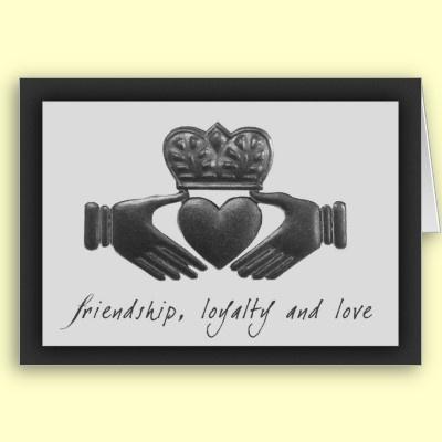 Irish Claddagh symbols and meanings - Friendship - hands, loyalty ... Irish Loyalty Symbol Tattoo