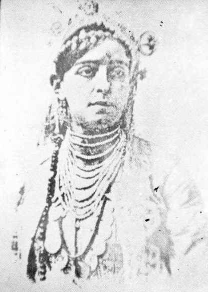Lalla Fadhma N'Soumer was an important figure of the Kabyle resistance movement during the first years of the French colonial conquest of Algiers.  It is estimated that Fatima N'Soumer was born in July 1830. It is known that her father was a Koranic school director. In line with their culture, a wedding was arranged for her at the age of sixteen, which she refused, rather adopting a solitary life and continuing her religious studies.  The French began to move into Algerian t...