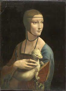 Dama com Arminho - (Leonardo Da Vinci)