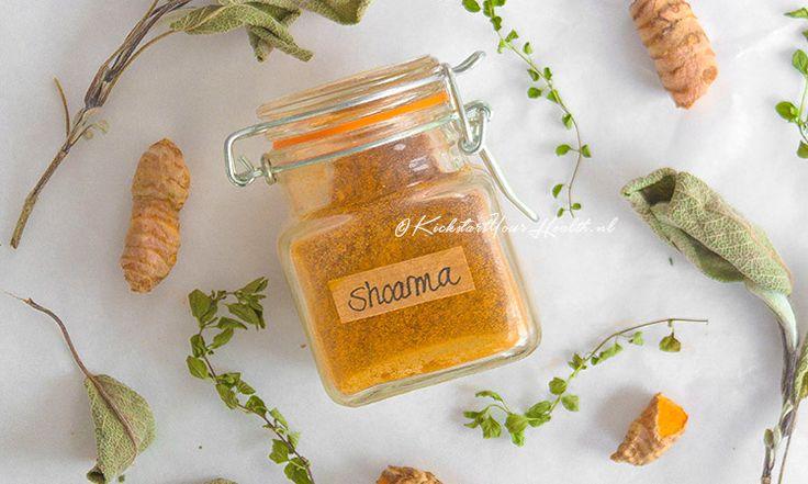Zelf shoarmakruiden maken met 6 ingrediënten! Vrij van e-nummers, zoetstoffen en zout. Gemakkelijk, betaalbaar, natuurlijk gezond met KickstartYourHealth!