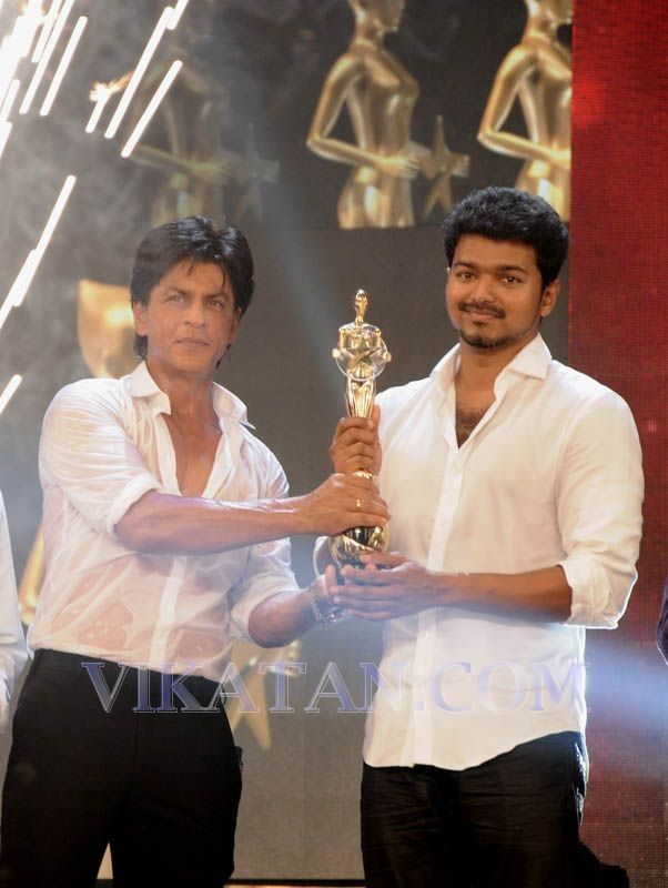 Srk and srk of the south - vijay!♡♡♡♡ two of the Nicest legendary actors in the world!