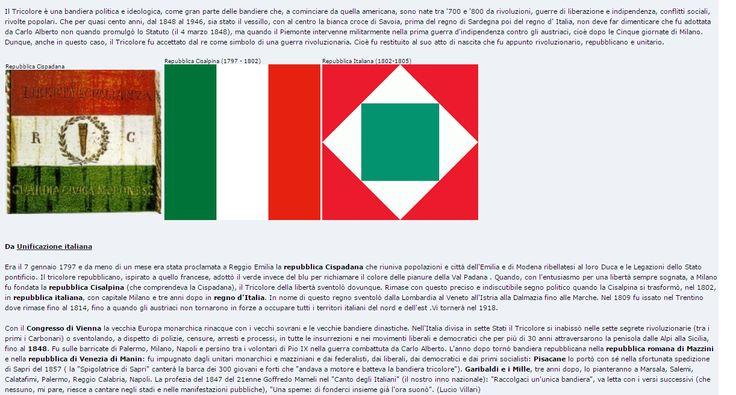 Breve storia della bandiera italiana scritta da Lucio Villari