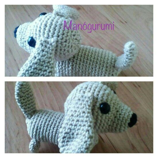 Crochet dog - dachshund
