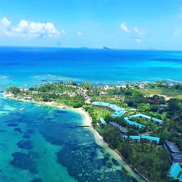 #ClubMedLaPointe vu du ciel! #ClubMed La Pointe from the sky!  --------------------------------------  Location: @ClubMedLaPointe, #Mauritius -------------------------------------- Tag  #ClubMedLaPointe to be featured as our #picoftheday