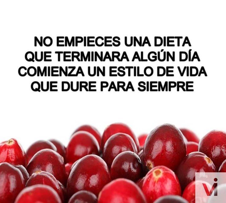 No empieces una dieta que termine, comienza un estilo de vida #saludable que dure siempre. #IMEBA