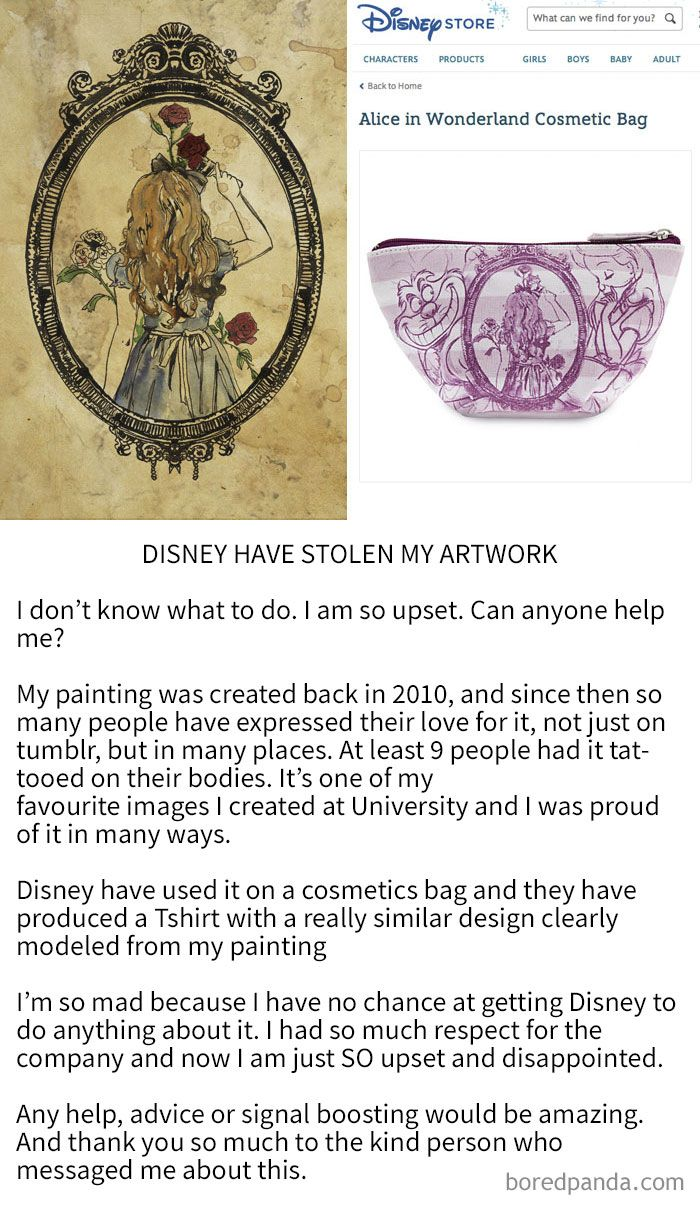 Art By Katie Woodger Stolen By Disney