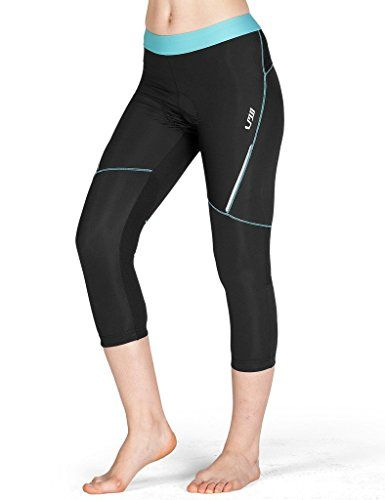 Women's Cycling Pants - Lameda Womens 34 Compression Cycling Tights Capri * You can find more details by visiting the image link.