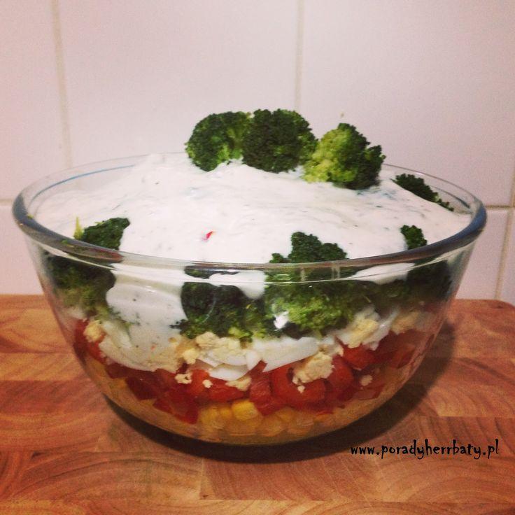 Porady Herrbaty : Kolorowa sałatka z brokułami