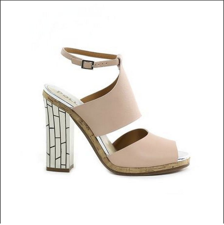 We love how super dreamy these heeled sandals are by Pollini.