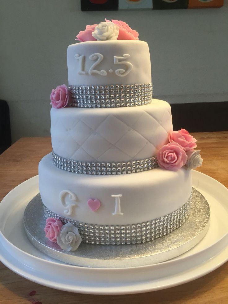Taart 12,5 jaar getrouwd