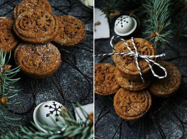 Delicious blog: Melasové kořeněné sušenky