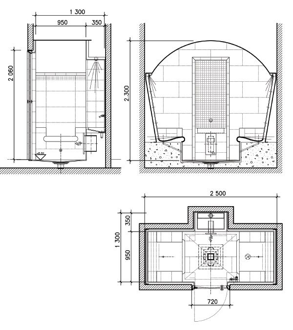 Home compact Hamam type II | компактный | мини | хамам