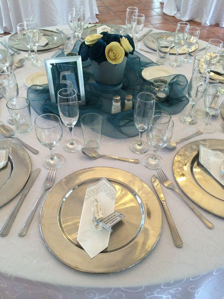 Table Settings for a Function @ Three Oaks Function Venue in Centurion -www.threeoaks.co.za