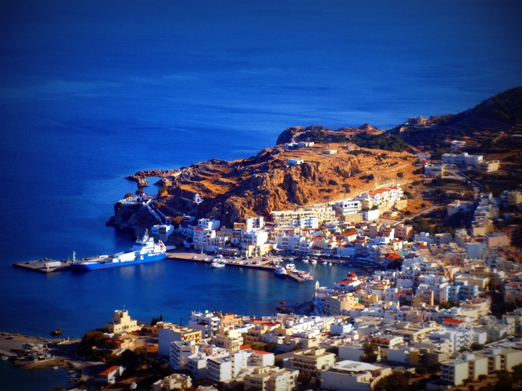 Pigadia: Capital city of Karpathos Island