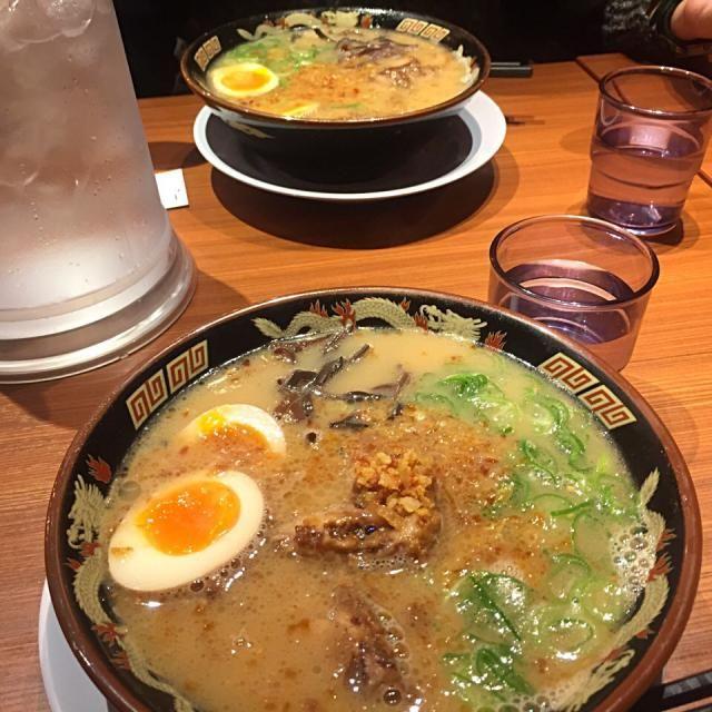 レシピとお料理がひらめくSnapDish - 15件のもぐもぐ - 鹿児島ラーメン by 丹音