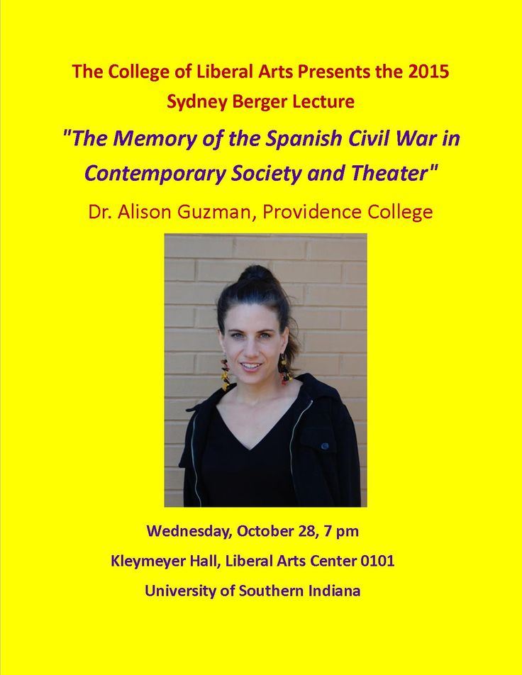 """You are cordially invited to this year's Sydney Berger Lecture given by Dr. Alison Guzmán of Providence College. It will be the perfect introduction to """"All Who Are Left!"""""""