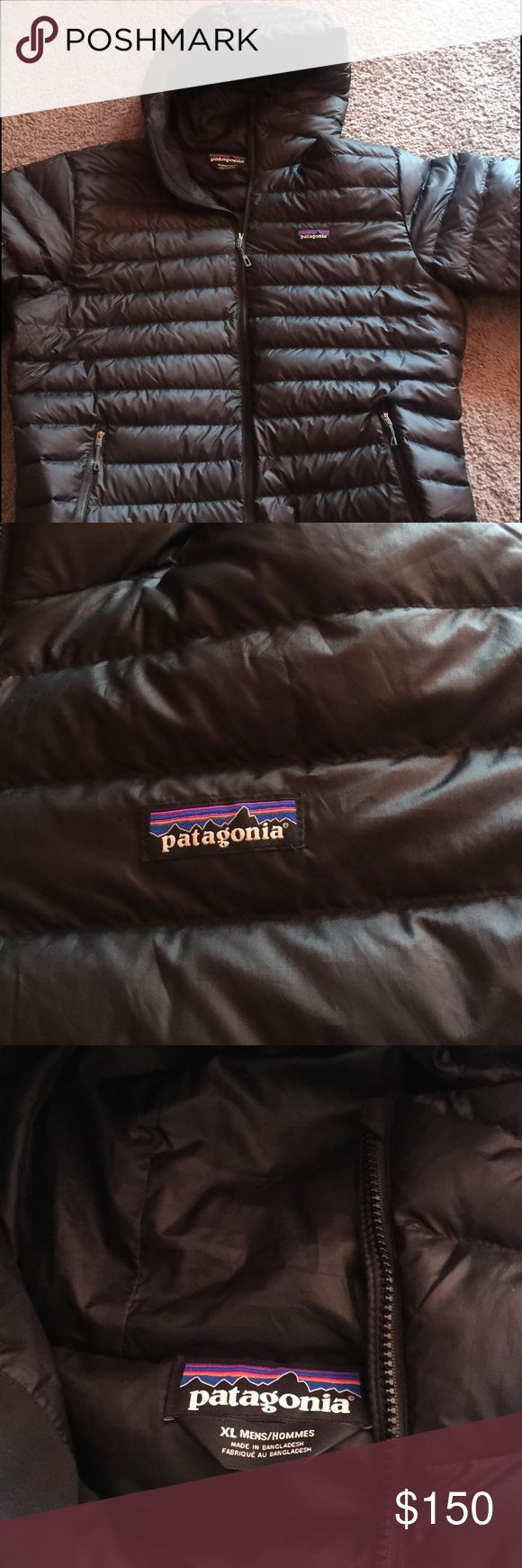 Patagonia Down sweater Hoody Jacket A Patagonia Down Sweater Hoody Jacket. Wind proof and water resistant. Incredibly warm and light. Stylish and functional. Is in excellent condition, looks brand new. Patagonia Jackets & Coats Puffers