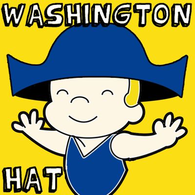1st picture easiest george washington hats1 step How to Make an Easy George Washington Hat for Presidents Day