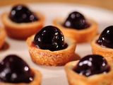 Sweetheart Tarts- they're just sugar cookie dough filled with jam and a cherry (but you could substitute whatever fruit you like)
