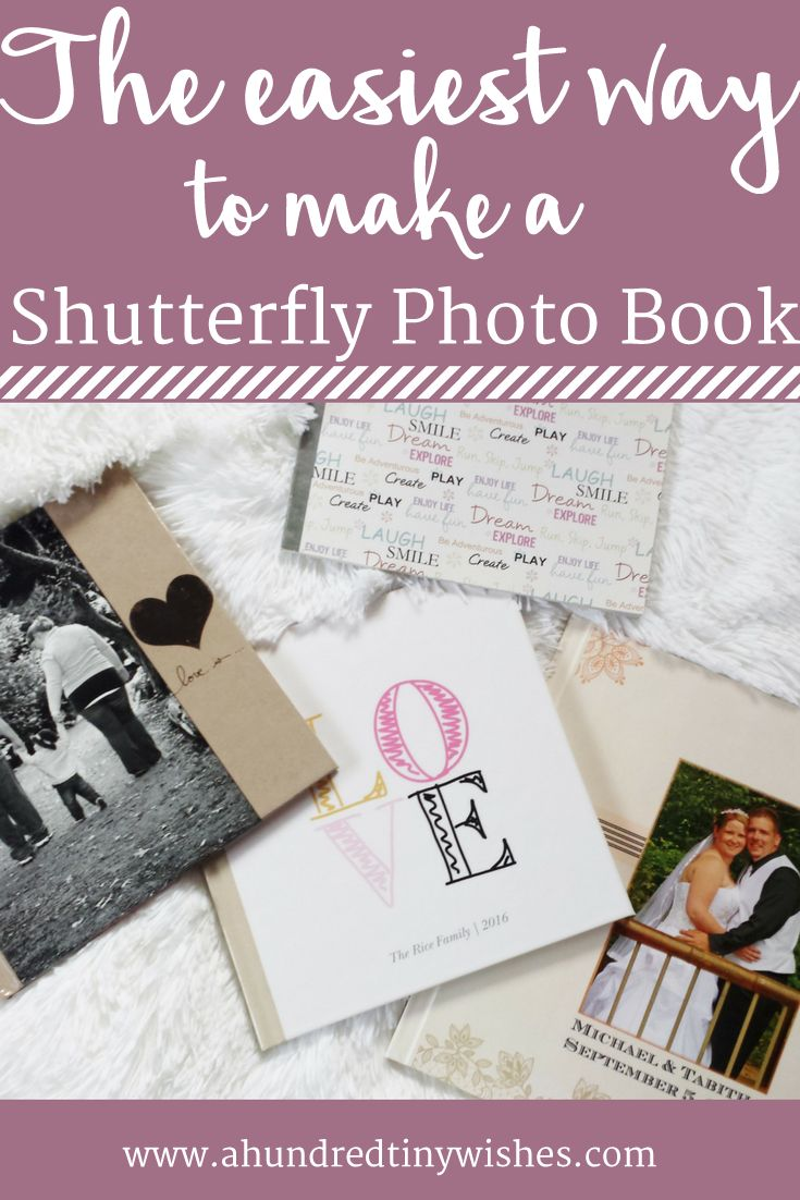 The easiest way to make a Shutterfly photo book https://ooh.li/8a1166f #shutterfly #ad